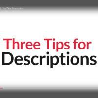Improve Your Campaign #10 – YouTube Descriptions