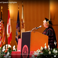 D'Youville President Lorrie Clemo Inaugural Speech Highlights