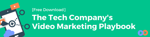 CTA - Tech Company's Video Marketing Playbook